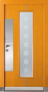 входных дверей со стеклопакетом для офисов