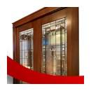 входная дверь офисная со стеклом