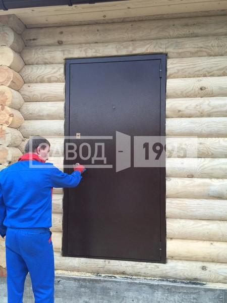 железная дверь для дачи в можайске