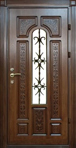 каталог входной двери с стеклом