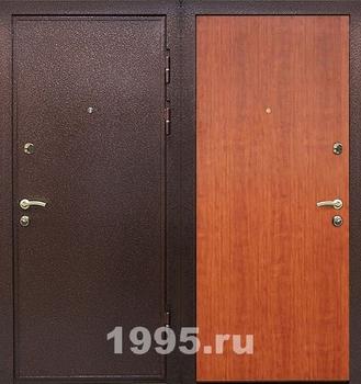 тёплая железная дверь для дачи