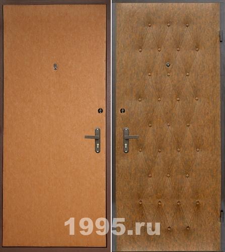 металлические двери ставни эконом класс