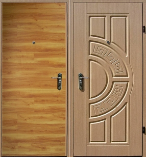 двери входные мдф с ковкой