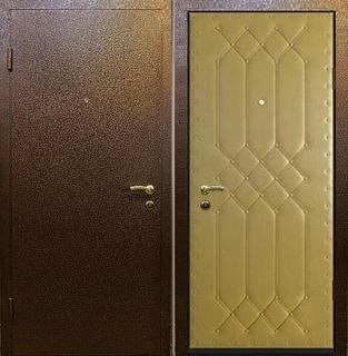 двери входные для подъезда с порошковым напылением