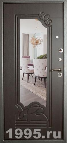 зеркало на входной двери преимущества