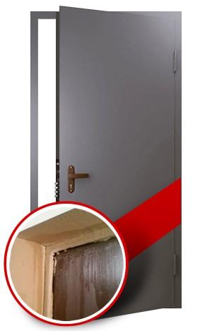 теплоизоляционная входная дверь