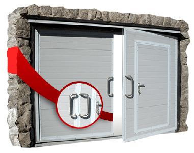 двери входные гаражного типа