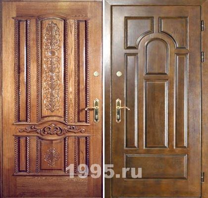 металлические двери в холл клин