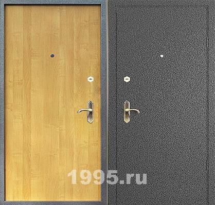 металлические двери уличные с порошковым напылением