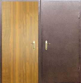 тамбурная дверь металлическая с порошковым напылением в москве