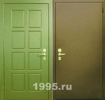 двери металлические с порошковой окраской с двух сторон
