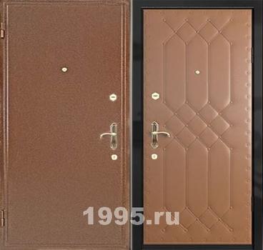 металлические двери эконом класса в частный дом